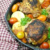 Cast Iron Cooking- Country Harvest Chicken