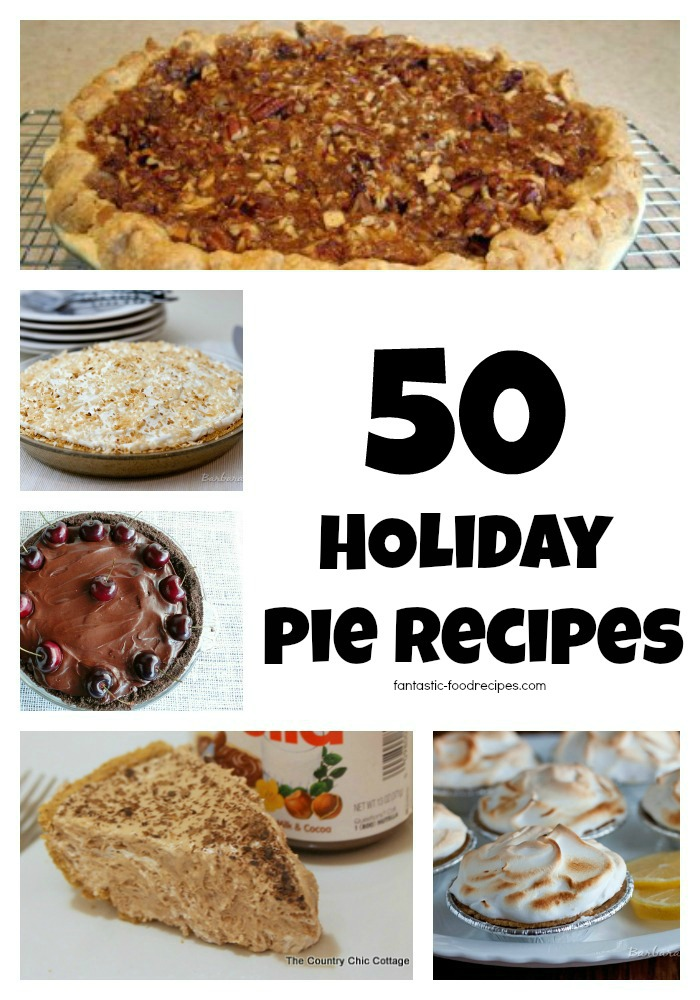 50 Holiday Pies