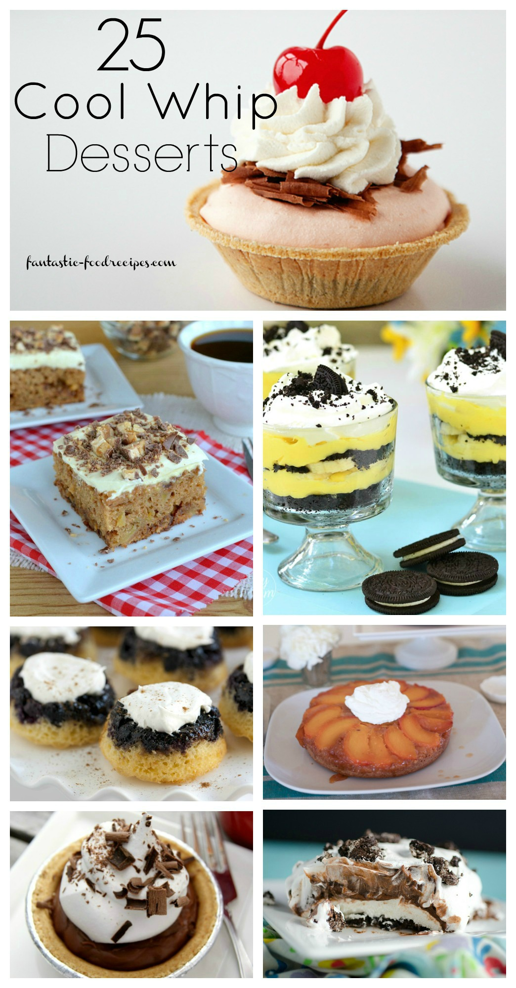 25  Cool Whip Dessert Recipes
