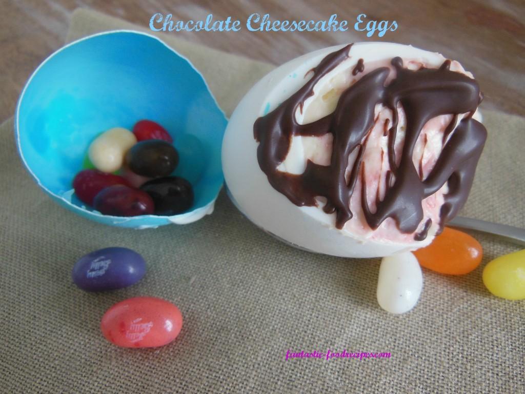 Chocolate Cheesecake Eggs- FFR