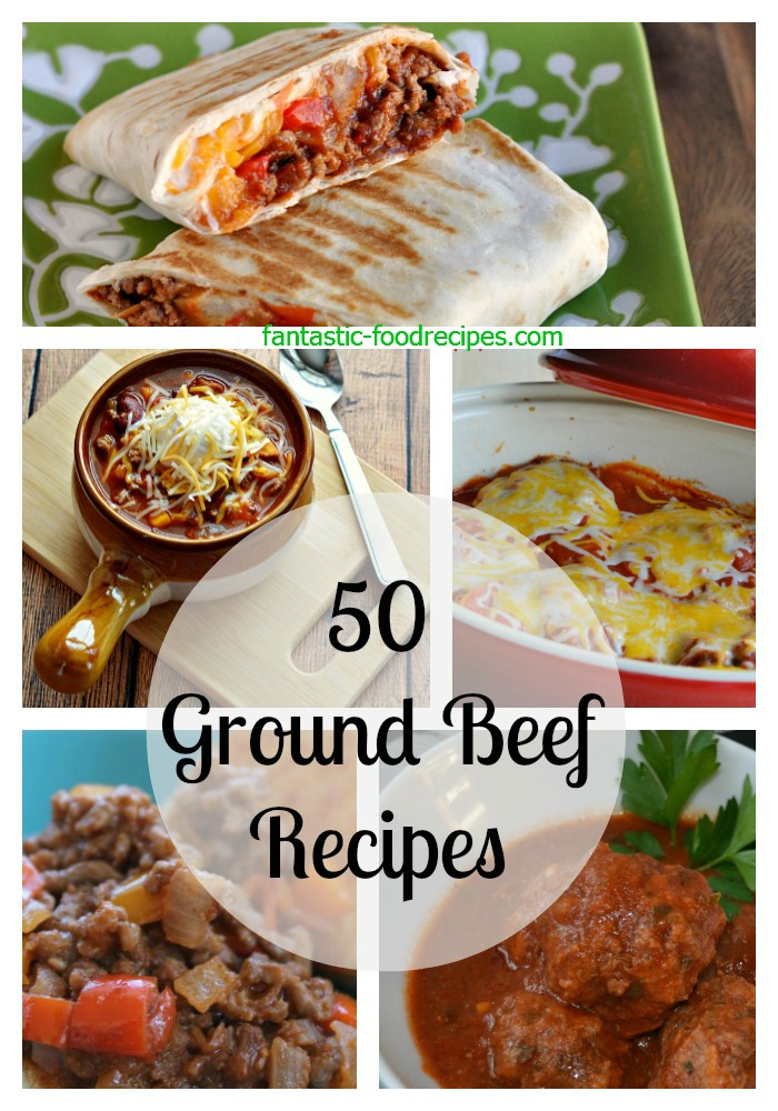 50 Ground Beef Recipes