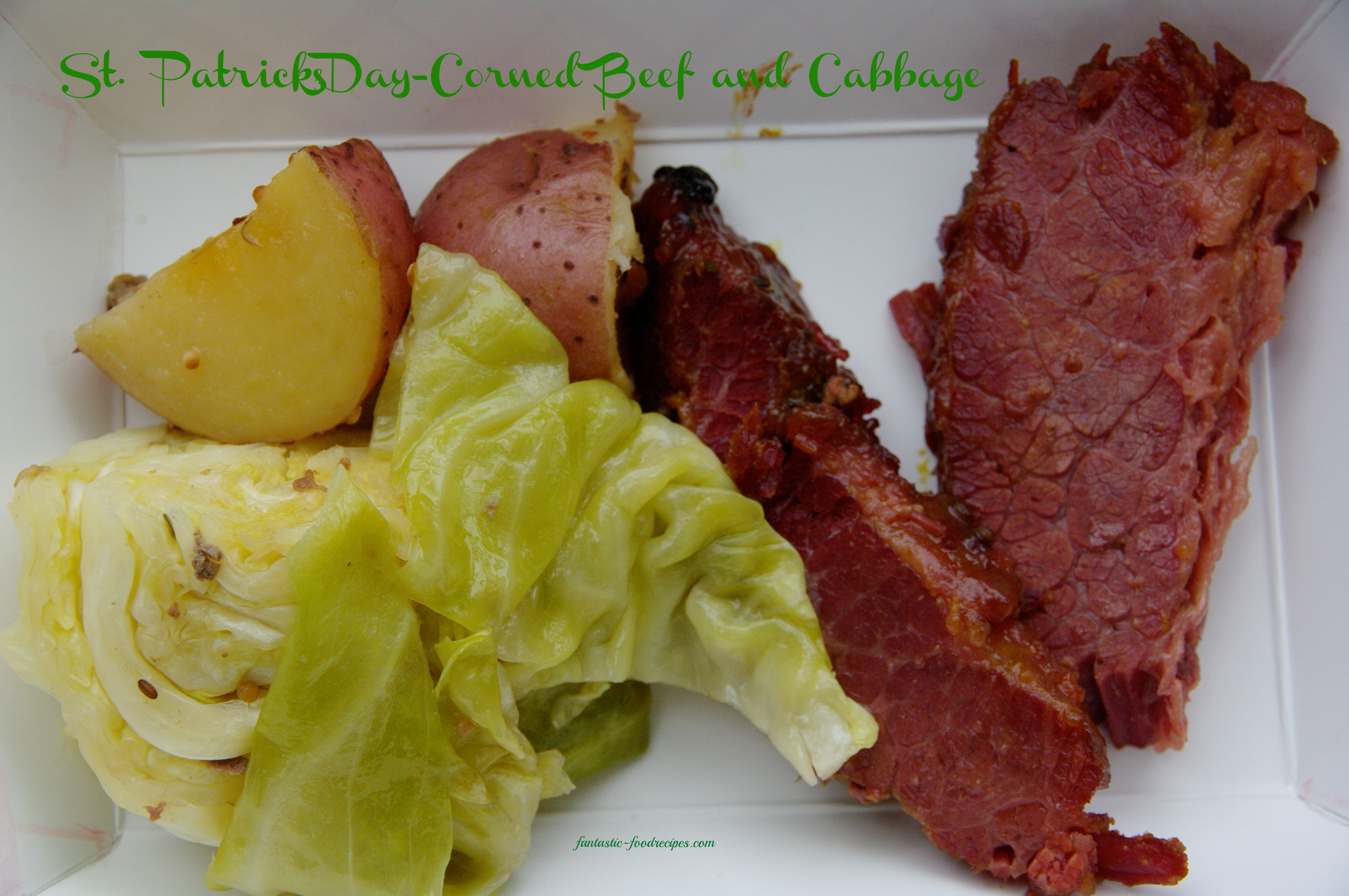 st patricks day corned beef and cabbage