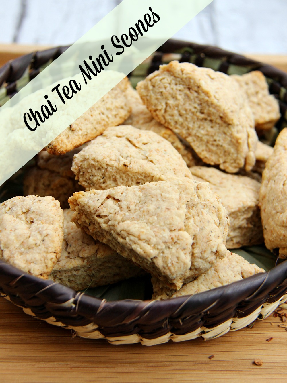 Chai Tea Mini Scones 1
