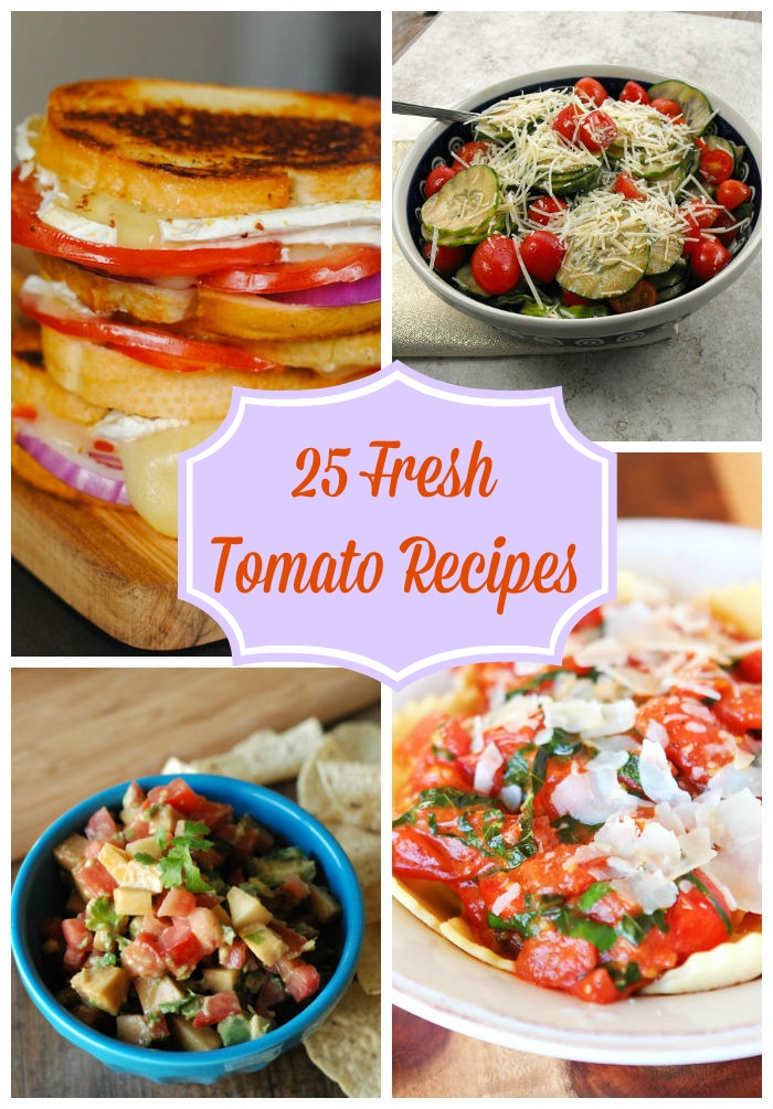 25 Fresh Tomato Recipes 1