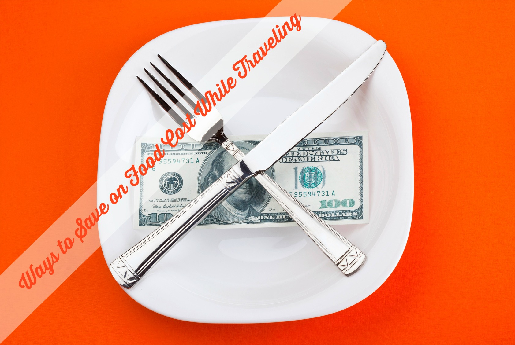 dollar on plate