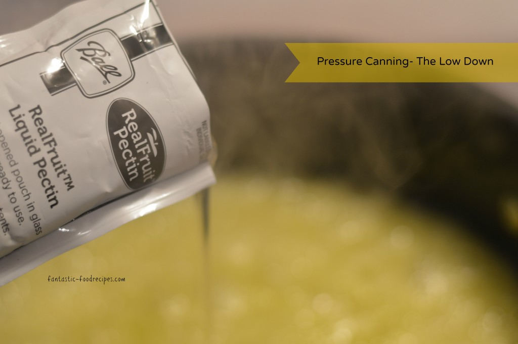 Pressure Canning- The Low Down