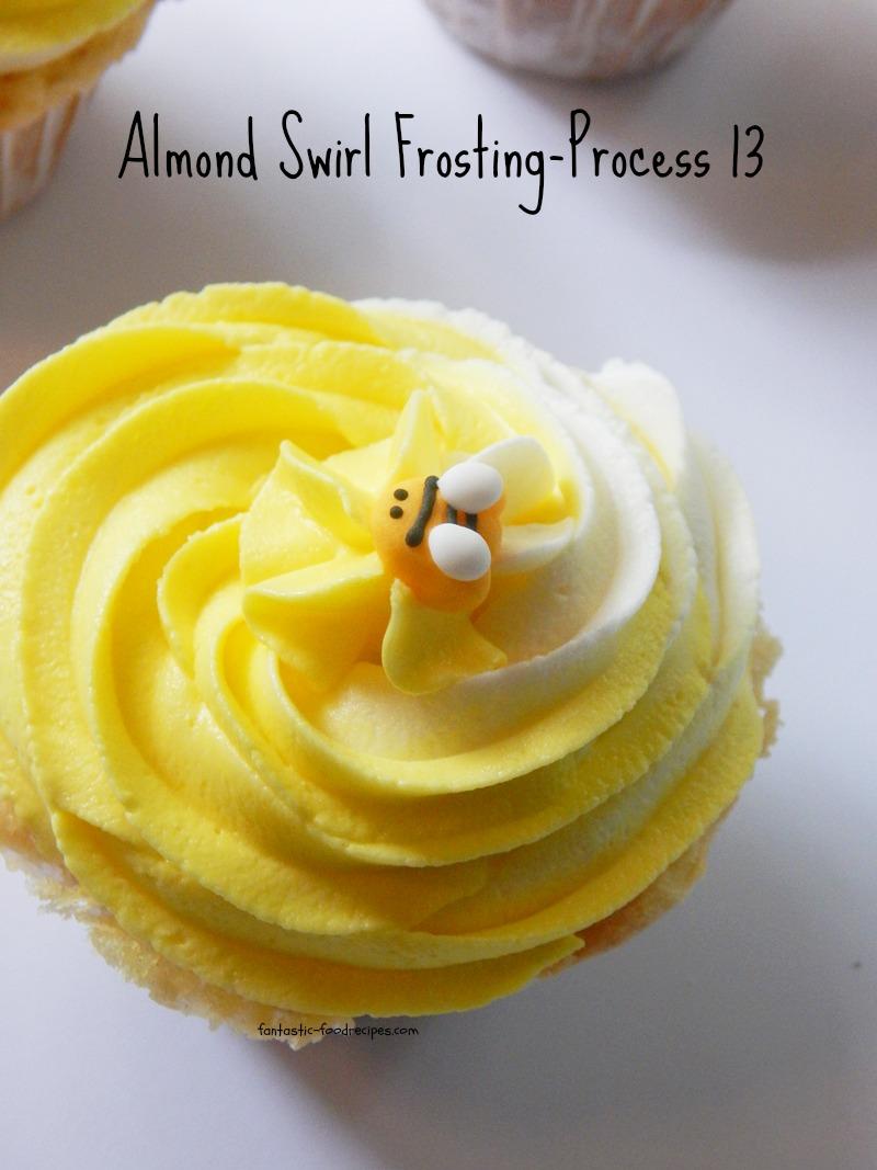 Almond Swirl Frosting- Process 13