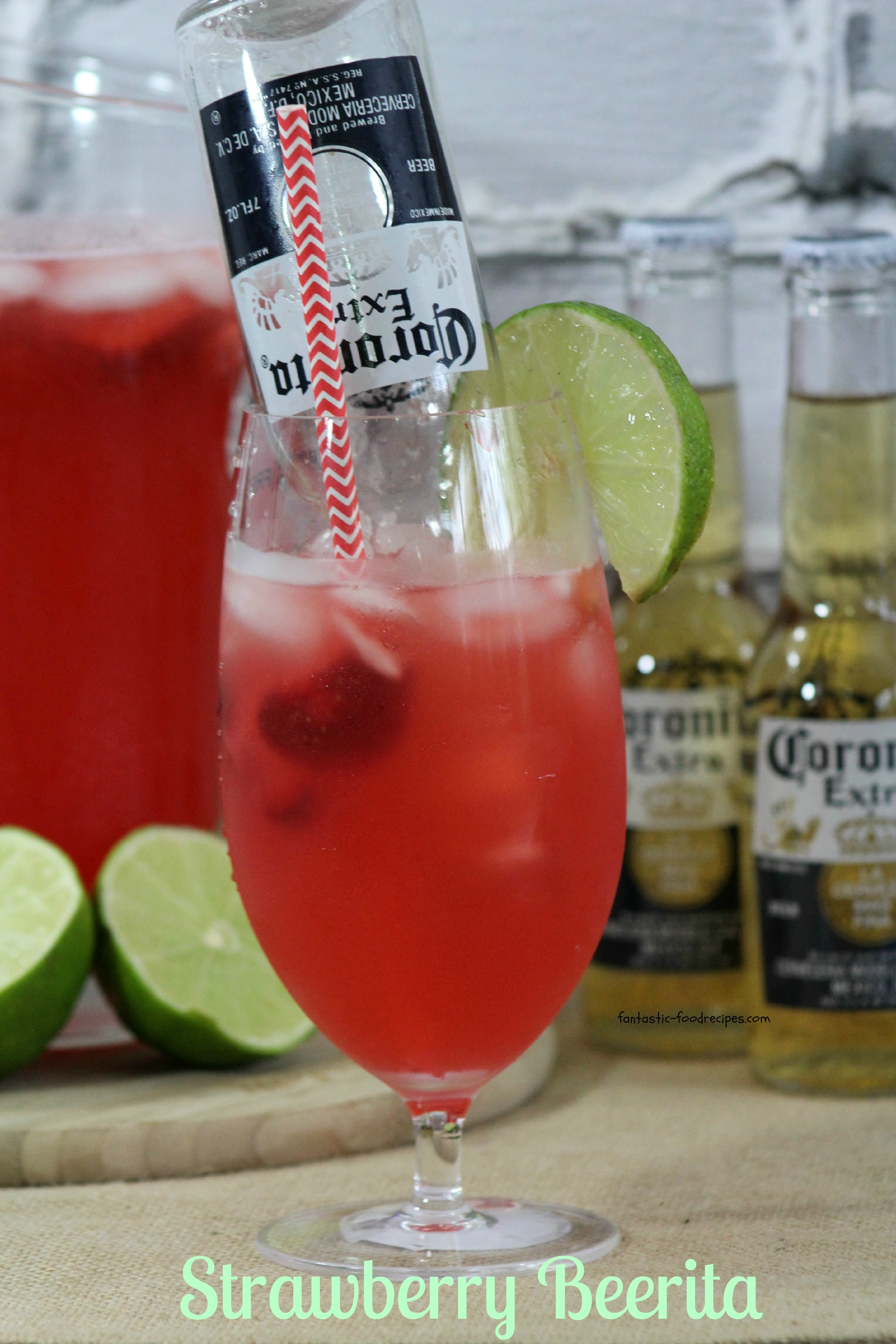 Strawberry Margarita-Beerita