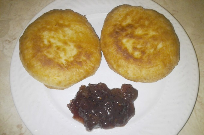 Homemade Bakes with Berry Jam