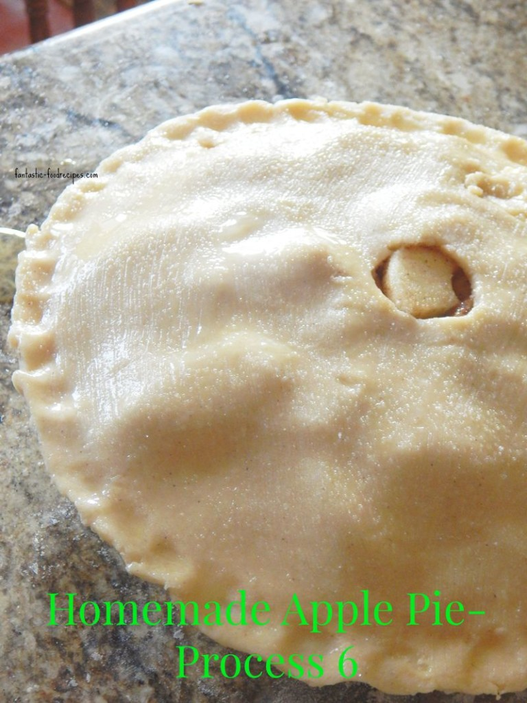 Homemade Apple Pie- Process 6