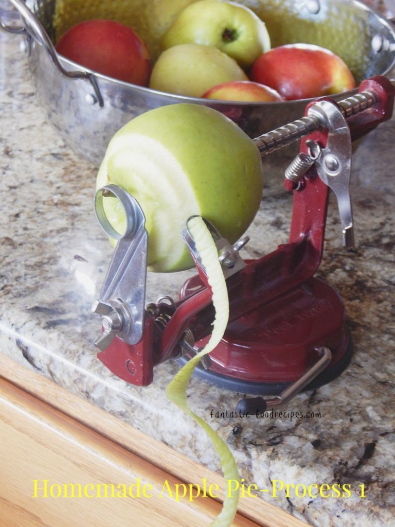 Homemade Apple Pie-Process 1