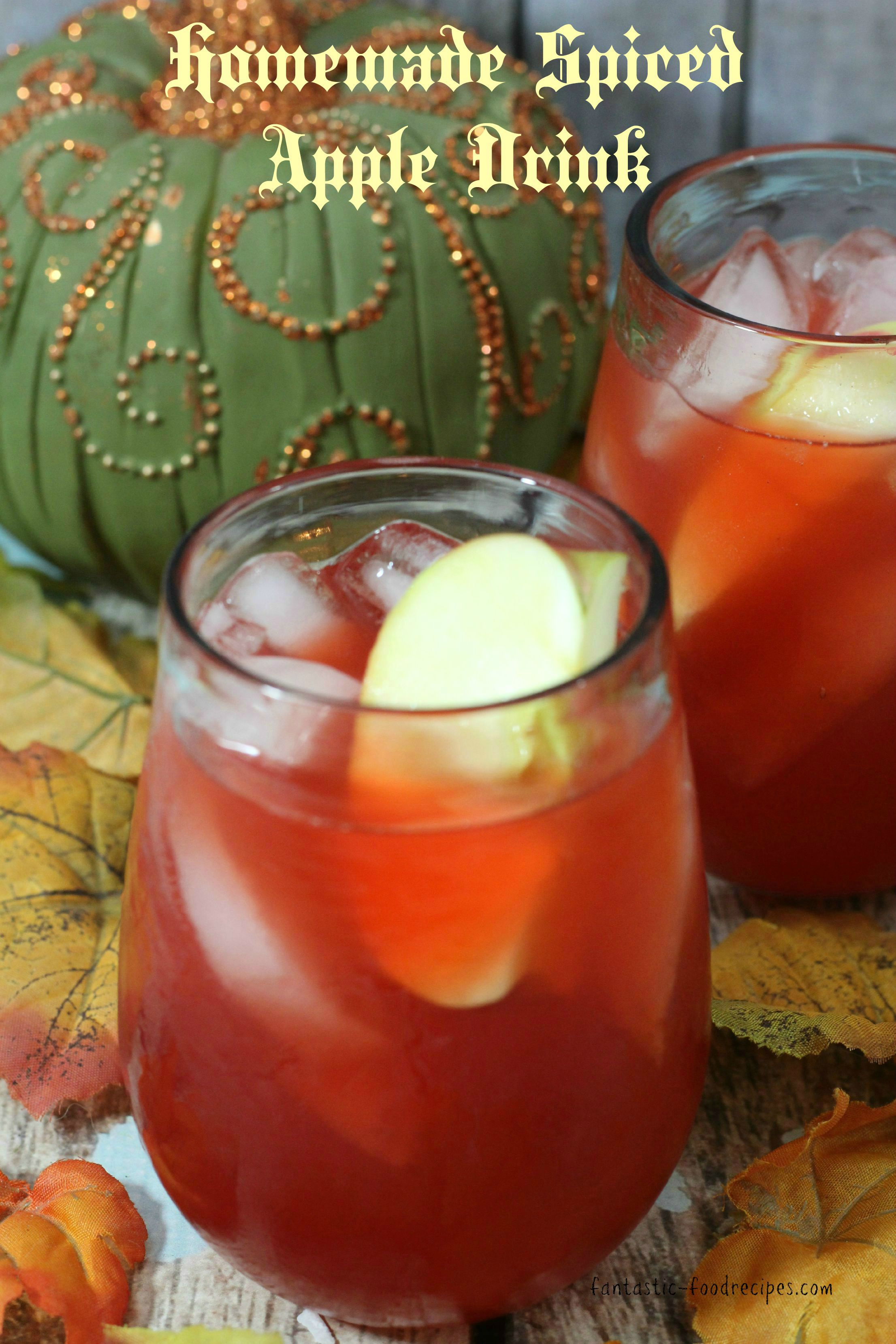 Homemade Spiced Apple Cider