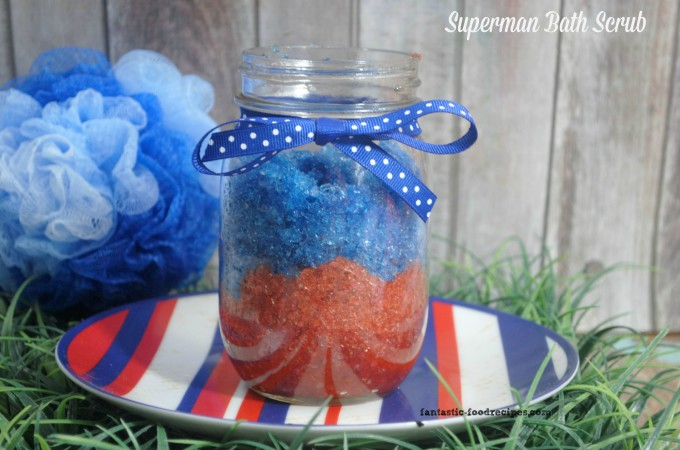 Superman Bath Scrub