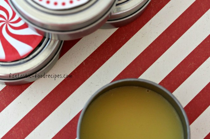 DIY Homemade Peppermint Lip Balm