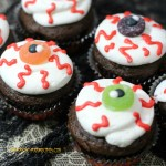 Evil Eye Cupcakes