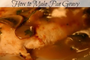 How to make pan gravy from scratch for How to make beef gravy from drippings