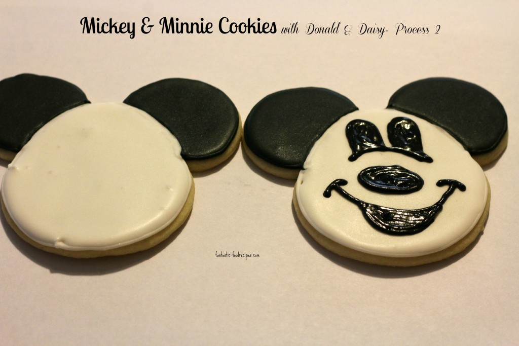 Mickey & Minnie Cookies