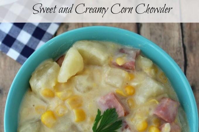 Sweet and Creamy Corn Chowder