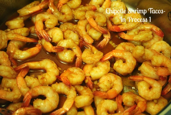 Chipotle Shrimp Tacos-In Process 1
