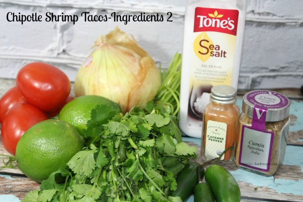 Chipotle Shrimp Tacos-Ingredients 2