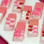 Valentine's Day Strawberry Cookies