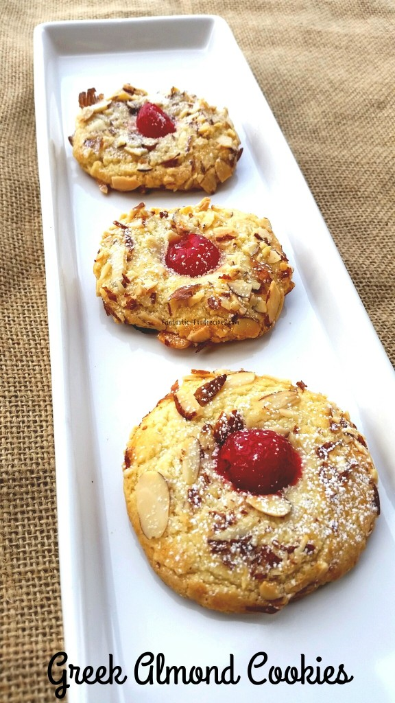 Greek Almond Cookies 2