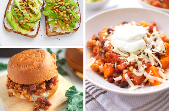 25 Vegetarian Recipes
