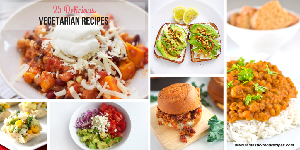 25 delicious vegetarian recipes forumfinder Choice Image