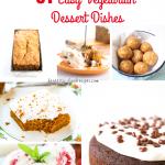 31 Easy Vegetarian Dessert Recipes