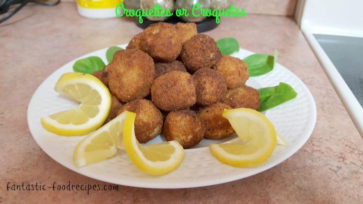 Croquettes or Croquetas 2
