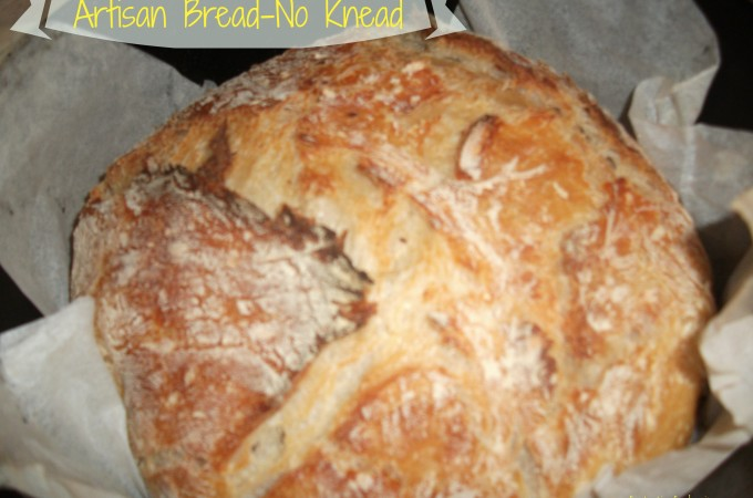 Artisan Bread-No Knead- 1