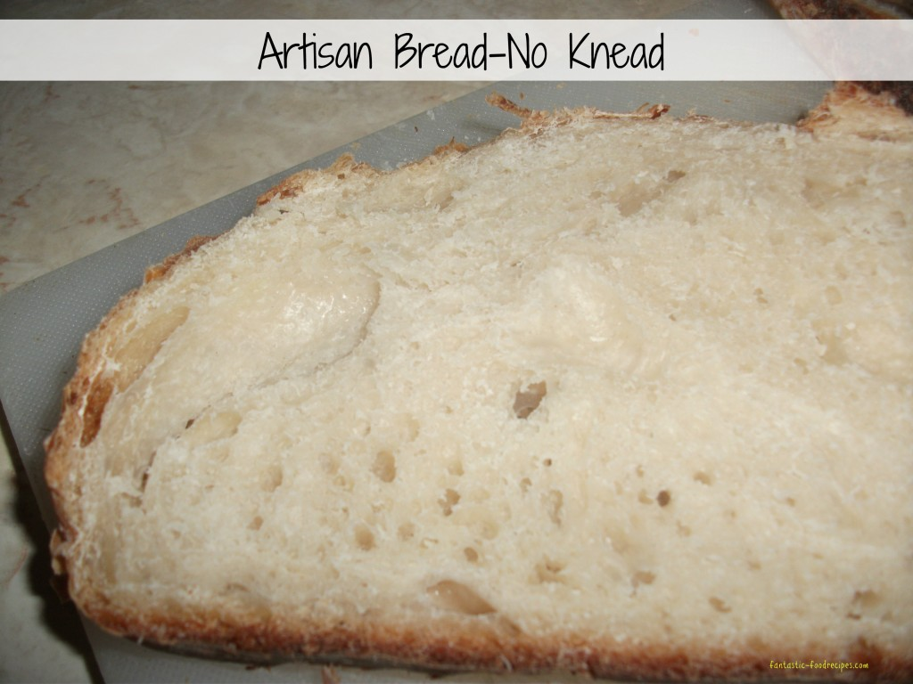 Artisan Bread-No Knead-5