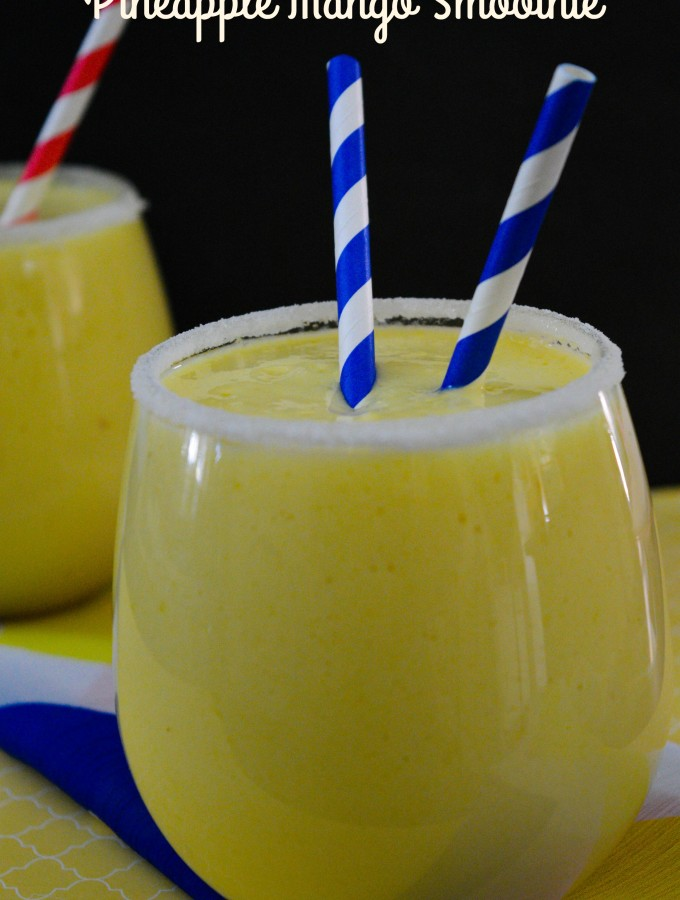 Pineapple Mango Smoothie- Main