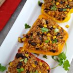 Mexican Quinoa Stuffed Peppers 2