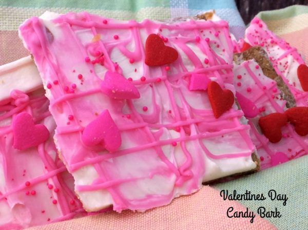 Valentines Day Candy Bark 2