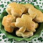 Shamrock Potato Rolls-Horizontal Shamrocks
