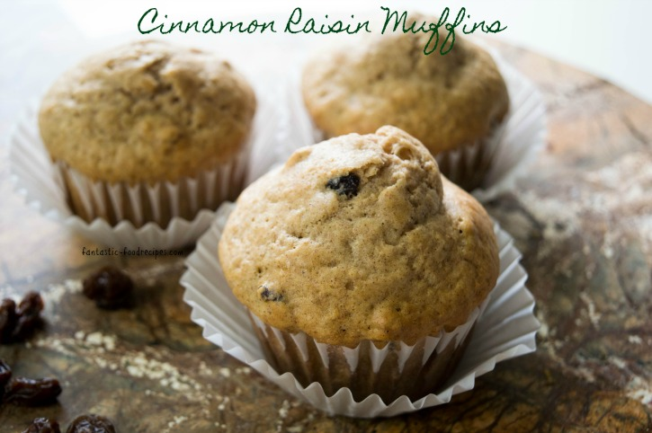 Cinnamon Raisin Muffins 1