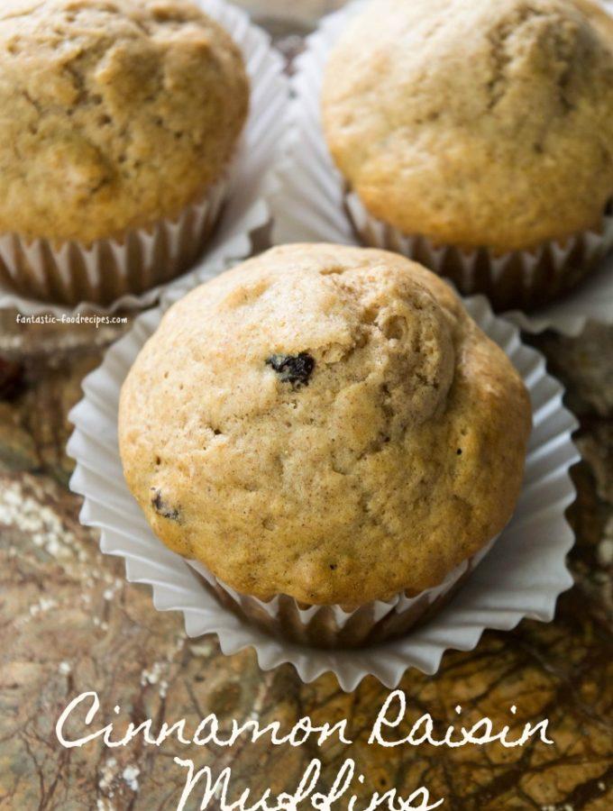Cinnamon Raisin Muffins 2