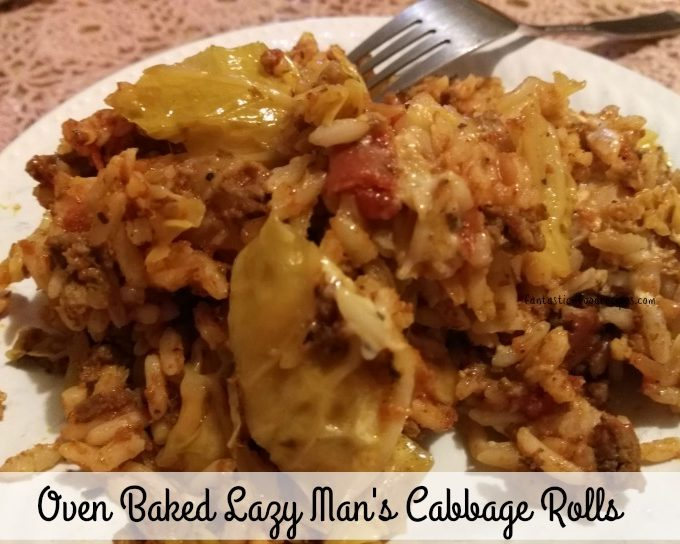 Lazy Man's Cabbage Rolls