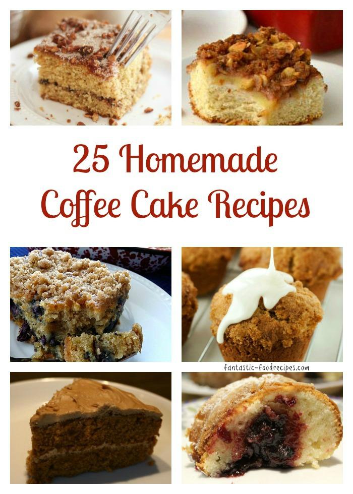 25 Homemade Coffee Cake Recipes